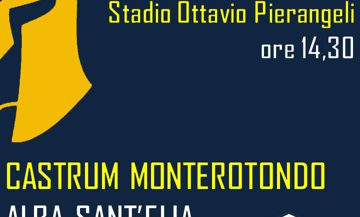 12ma giornata: Castrum Monterotondo – AlbaSant'Elia
