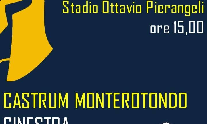 24/03 ore 15:00 | Castrum Monterotondo – Ginestra
