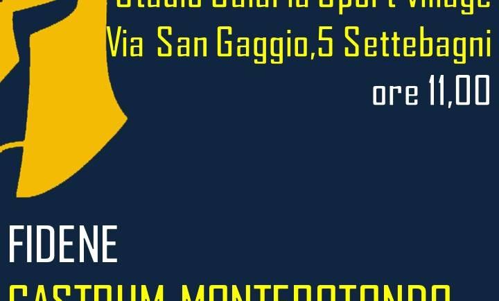 Fidene – Castrum Monterotondo