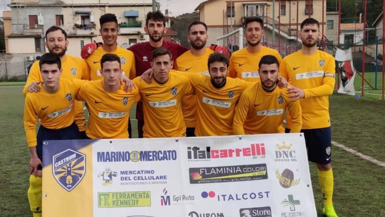 Castrum Monterotondo – Poggio Mirteto  2-1
